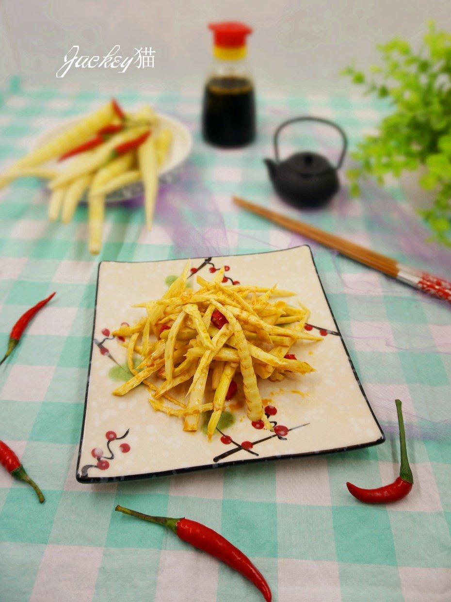 【尝鲜】竹林里的鲜味—红油脆笋