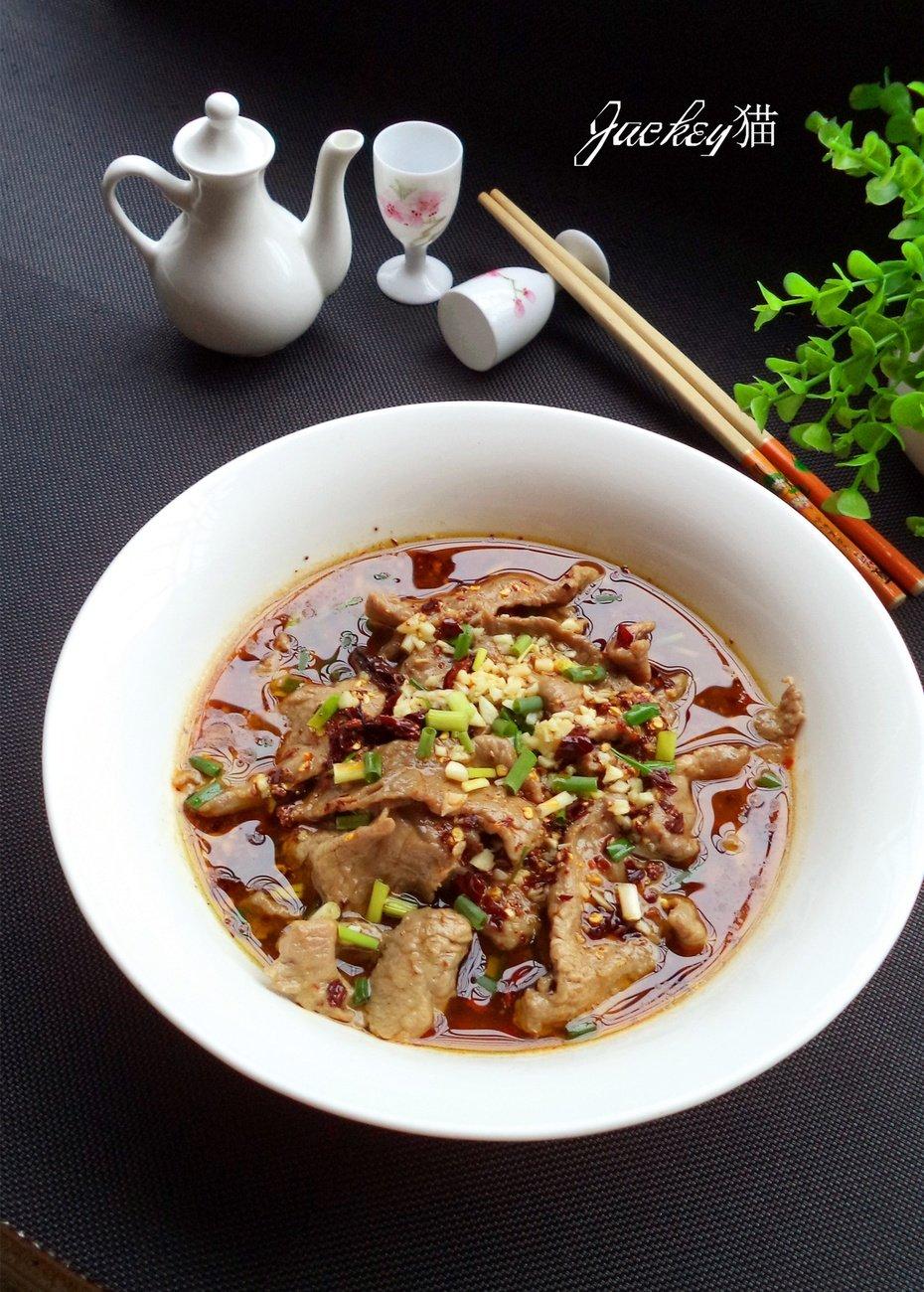 水煮牛肉:麻辣鲜香的家常味道