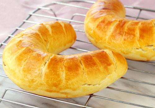 自制宝宝美食点心 香甜柔软马蹄面包做法 浓郁榛子醇香 太好吃了