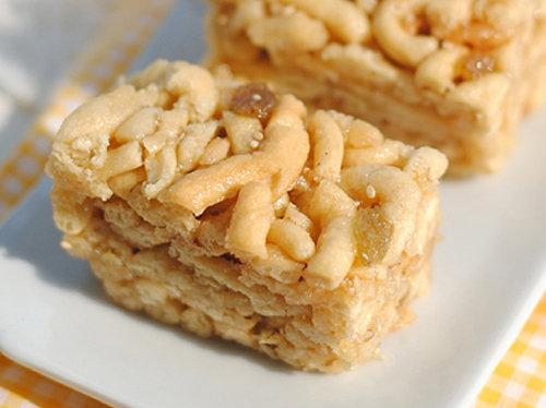 自制香甜沙琪玛 口感酥松绵软 做法简单快手 特别适合孩子的早餐