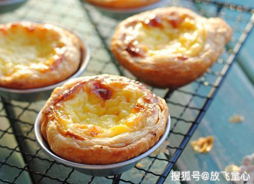 超详细教你蛋挞的简单做法 酥脆掉渣 香甜醇厚 孩子最爱吃的甜点
