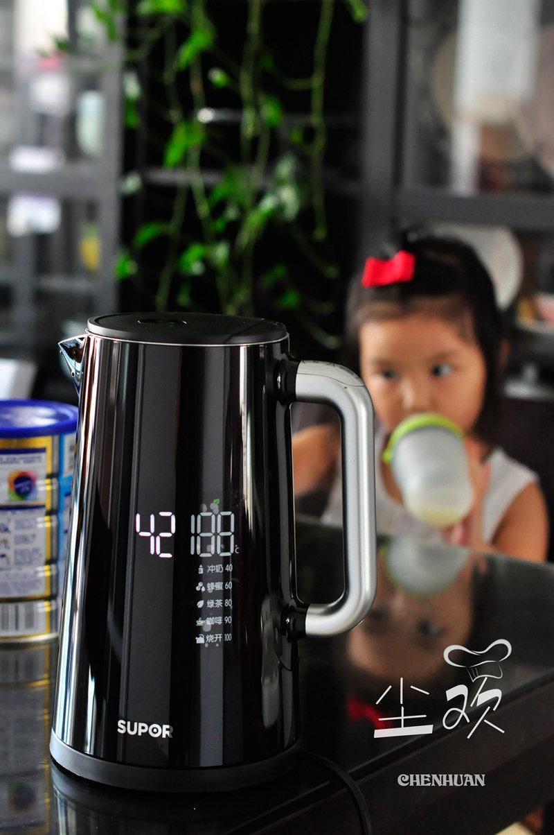 温度可调,水温可见,专门给有宝宝家庭定制的水壶