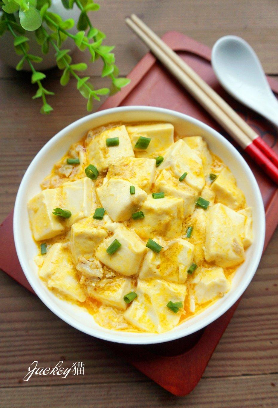 【暖冬】忘不掉的鲜美—蟹粉豆腐