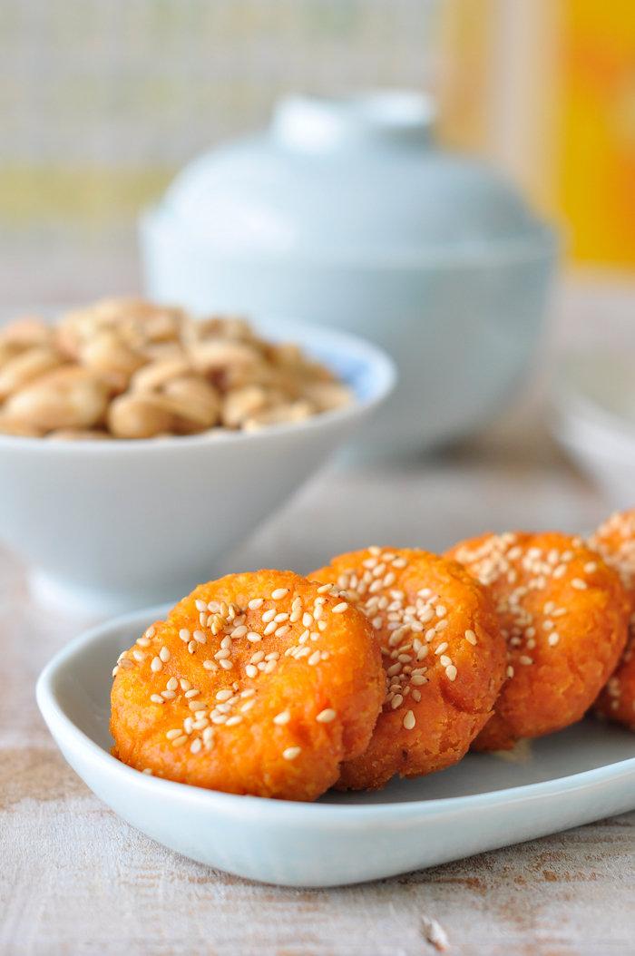 粗粮细做,常见的红薯变身美味小点
