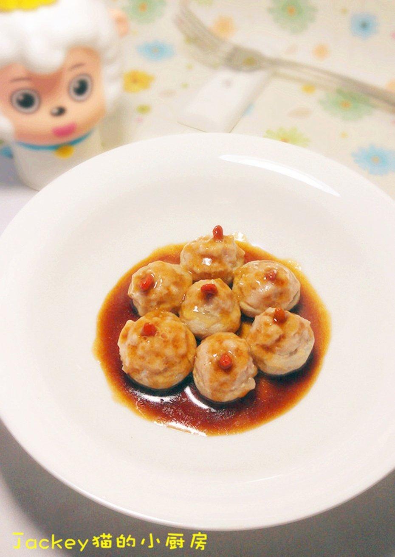【水货】清爽口口鲜—蘑菇肉球