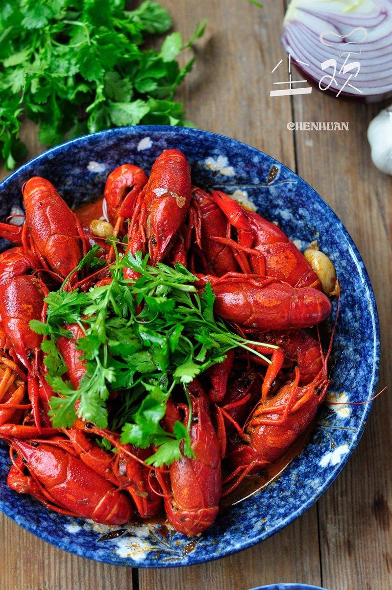 龙虾季的诱惑,这样快手做小龙虾,麻辣鲜香好吃停不下来