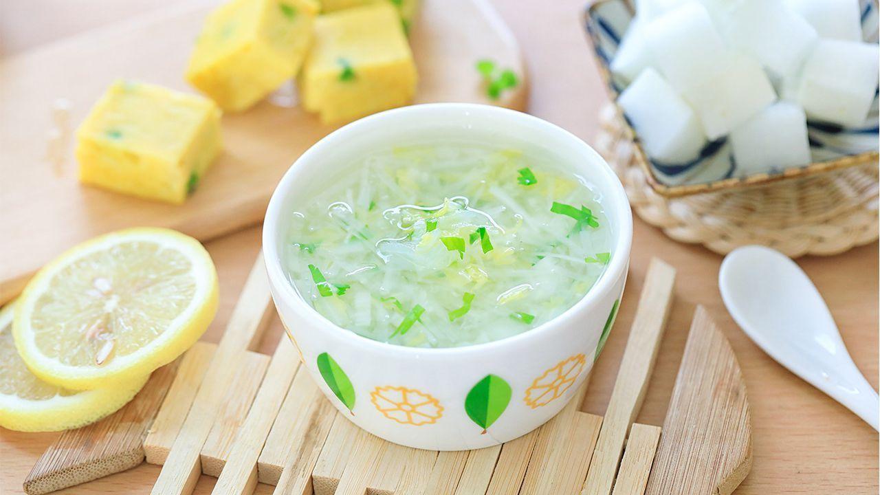 宝宝积食腹胀,回家煮这碗消食汤,1天喝1碗,调理肠胃好帮手!