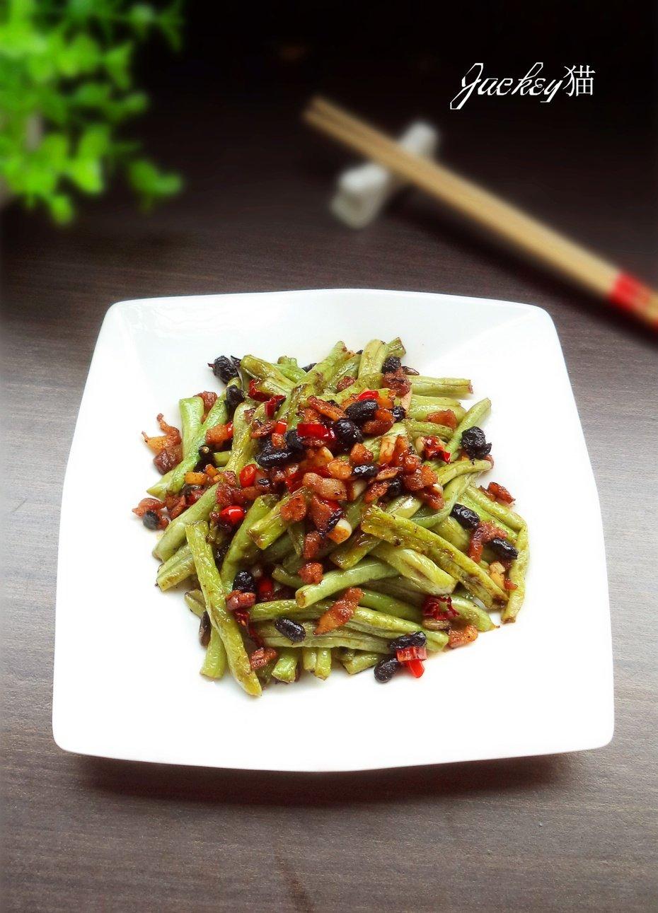 【霜降】下饭菜—豉香豆角