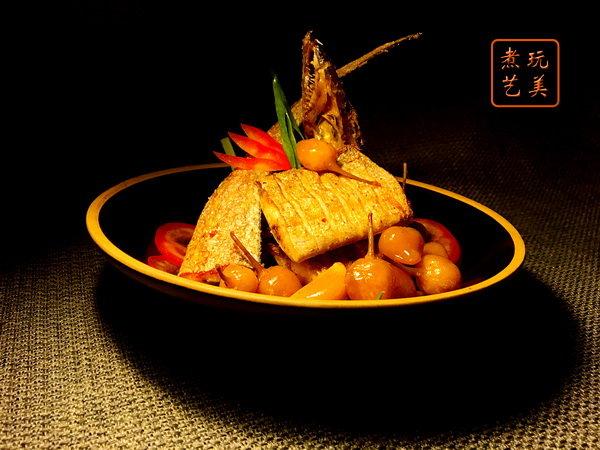 广西的回味-小彩椒烹带鱼