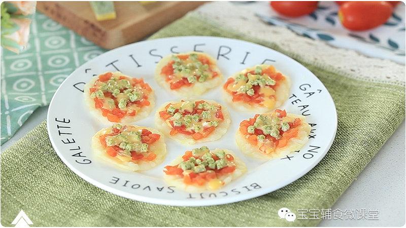 迷你小披萨:不用烤也能在家做出的小披萨!