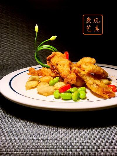 爱秀食堂-皇帝豆与小鱼儿