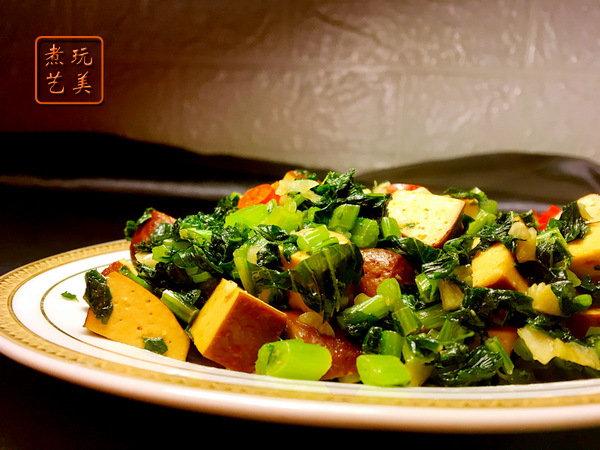 萝卜好吃,萝卜叶也不要浪费,几块钱就能炒出一大盘,还挺下饭