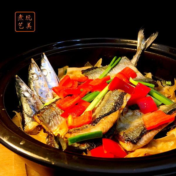 豆腐皮烧秋刀鱼, 豆制品与鱼总有不解之缘