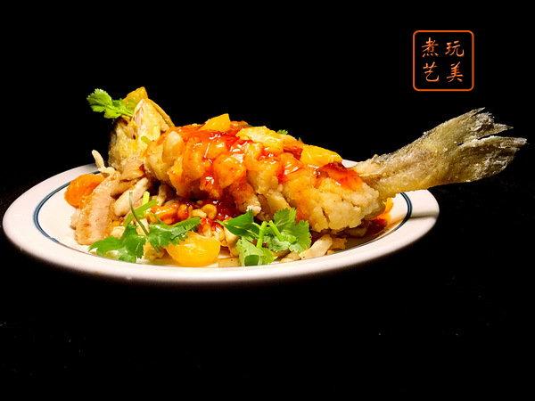 黄瓜鱼不一定非做松鼠鱼,酸甜依旧开胃豆干丝来增加饱足感