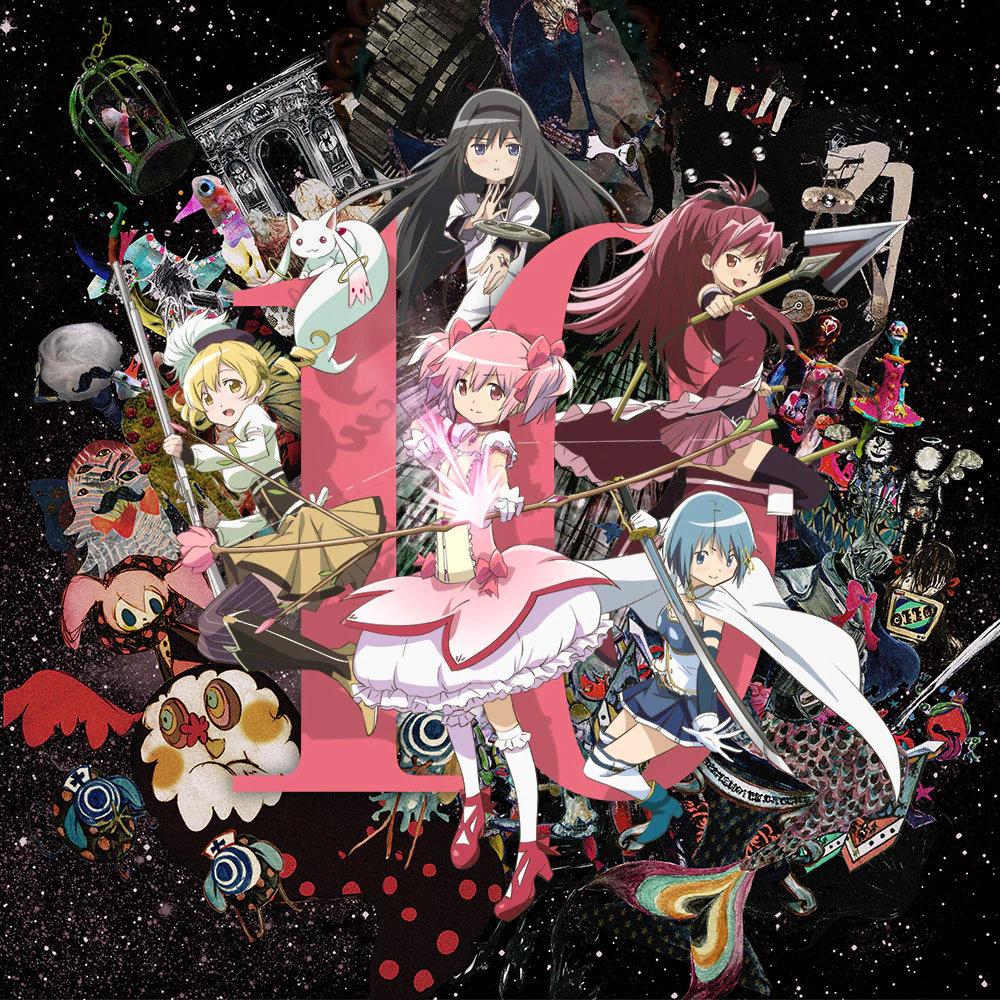 动画《魔法少女小圆》10周年纪念展9月开展,主视觉图公开-