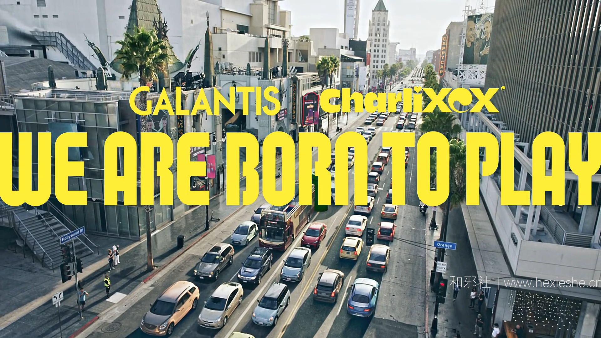 【SUPER NINTENDO WORLD™】Galantis ft. Charli XCX - WE ARE BORN TO PLAY [Music Video].mp4_000021.313_副本