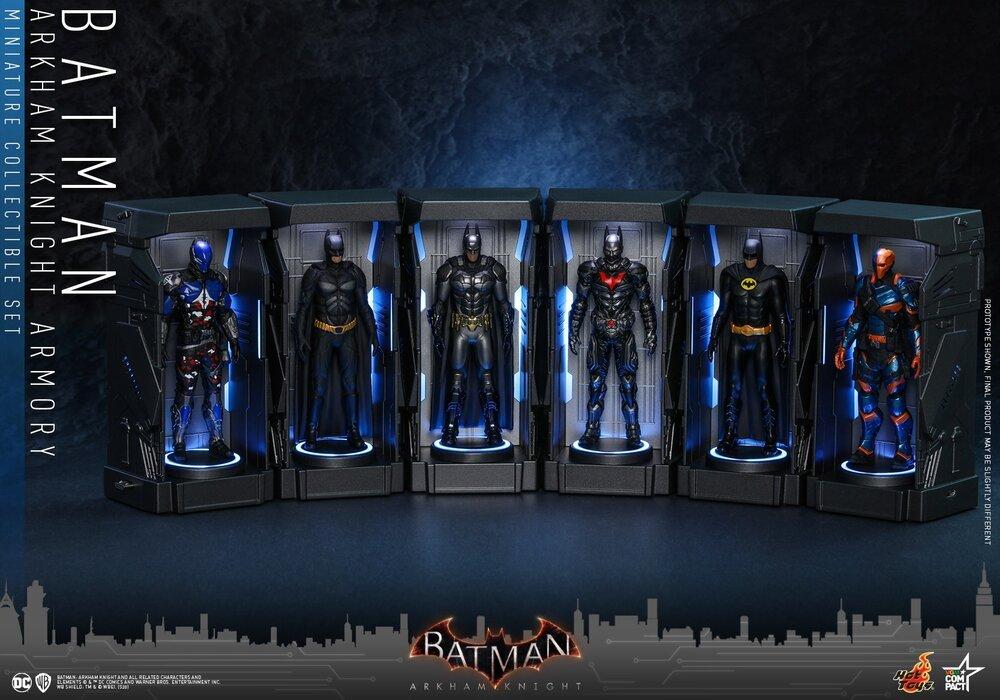 HOT TOYS 蝙蝠侠:阿卡姆骑士 Batman: Arkham Knight BATMAN: ARKHAM KNIGHT Batman Armory Collectible