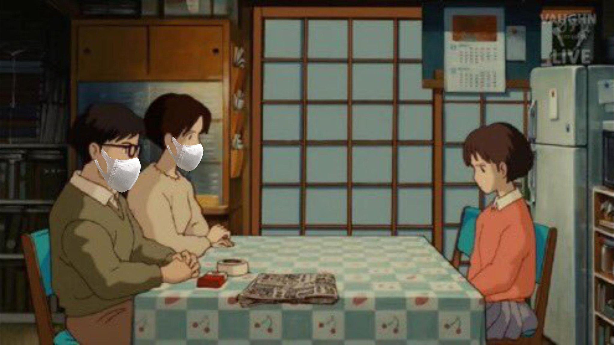 日本网民恶搞安倍一家两口罩政策_和邪社05