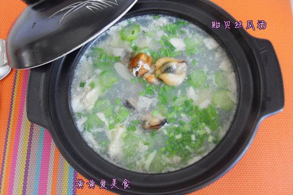 #开学季#10分钟轻松打造的营养汤:丝瓜贻贝汤