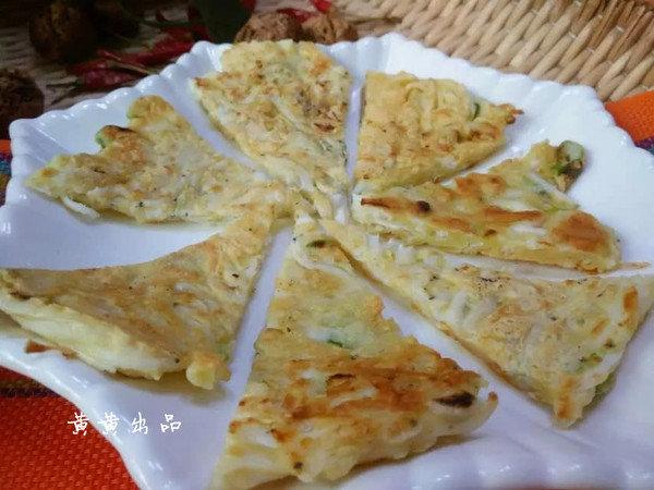 【湘爱】银鱼鸡蛋饼:用鱼中人参打造的海鲜美食