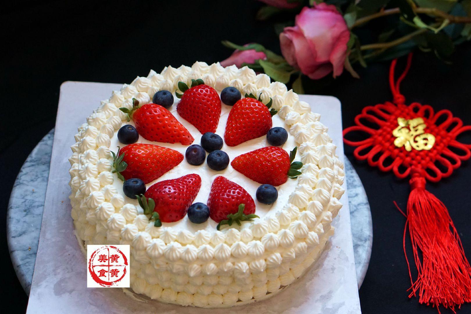 别再买生日蛋糕啦,自己做超简单,好看又好吃,手残党也能搞定
