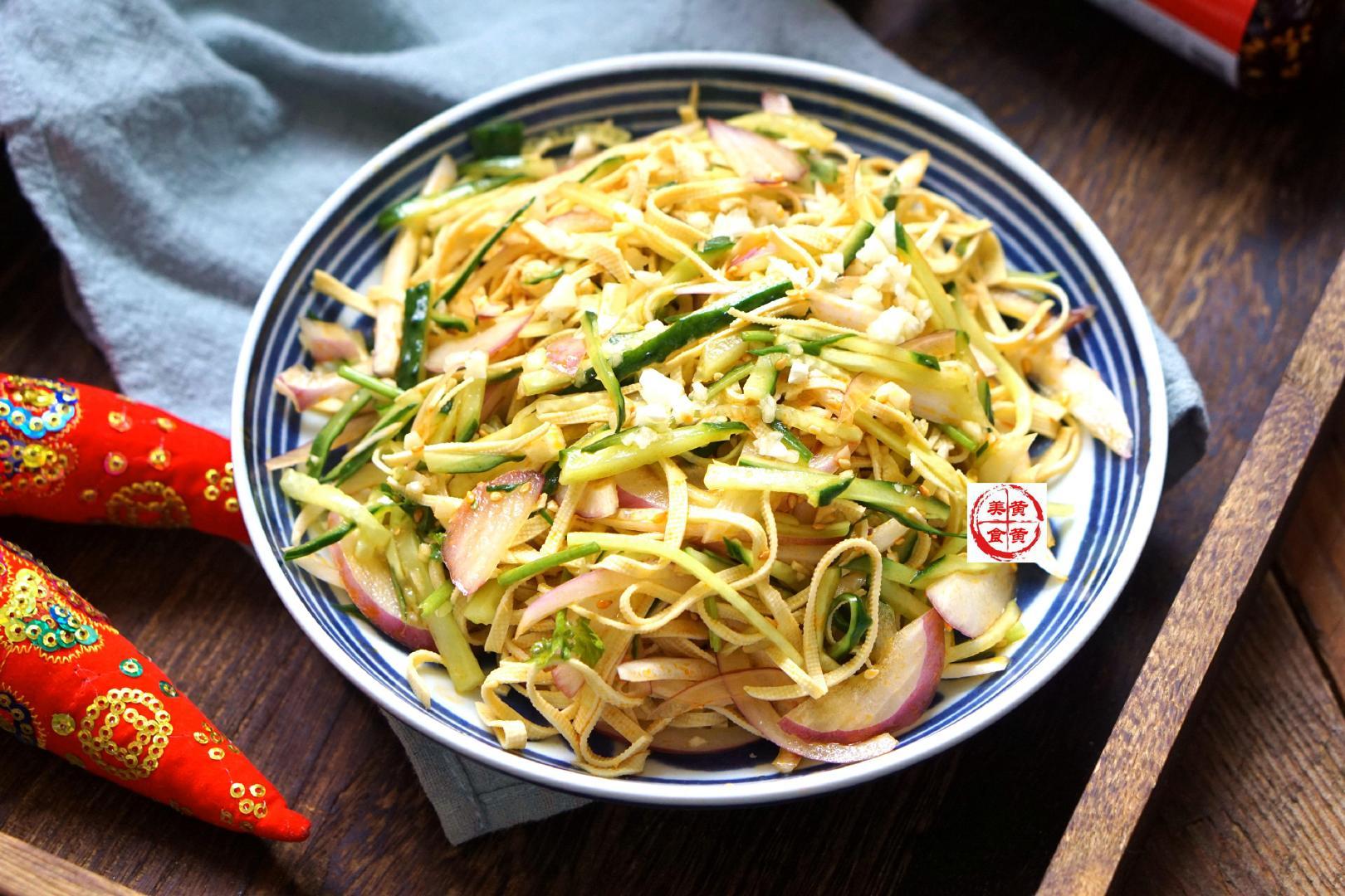 天热这道小菜,我家每周必吃,制作简单,特别开胃下饭,快试试