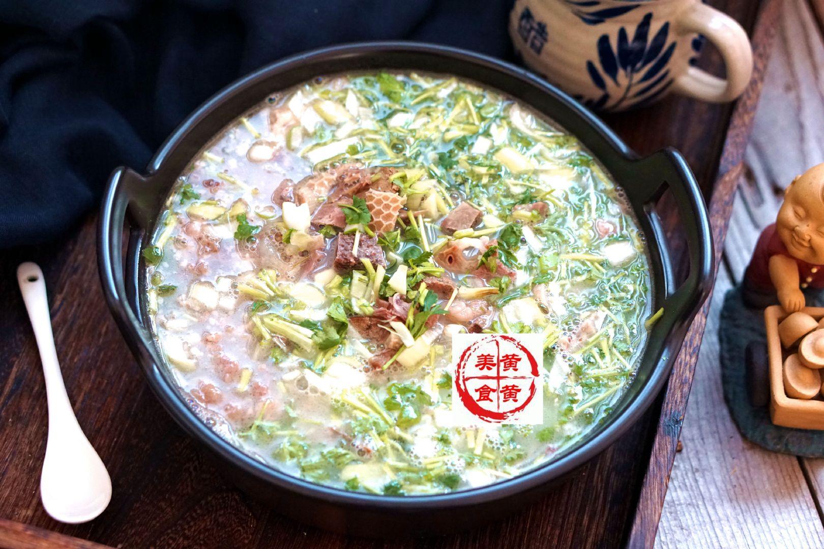 自制羊杂汤
