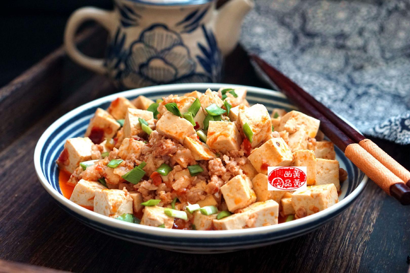 肉末豆腐最简单的做法,又香又鲜,好吃下饭,汤汁一滴都不剩