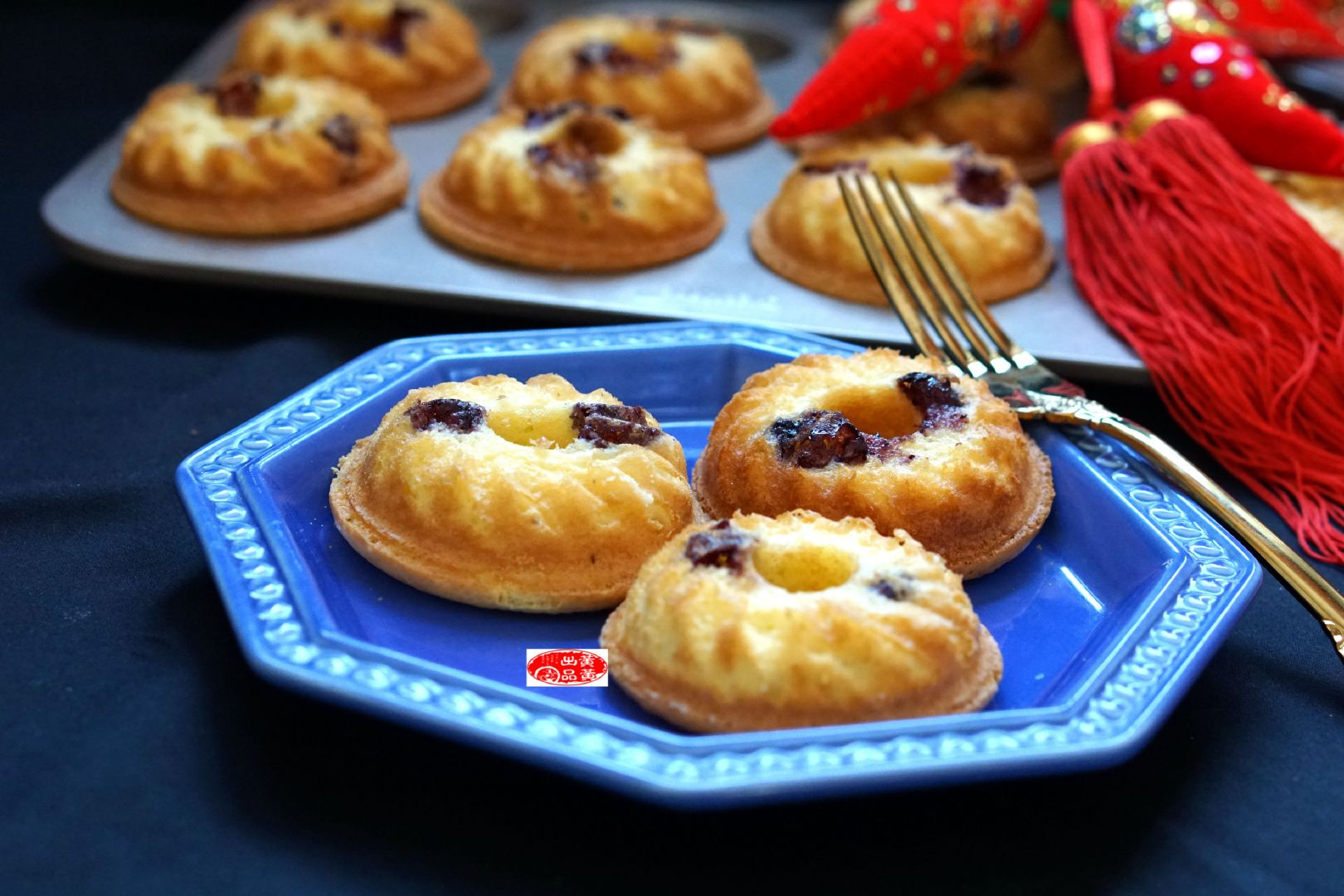 蓝莓酱旋风小蛋糕,吃甜品心情变好,看过前任3,让一切成云烟