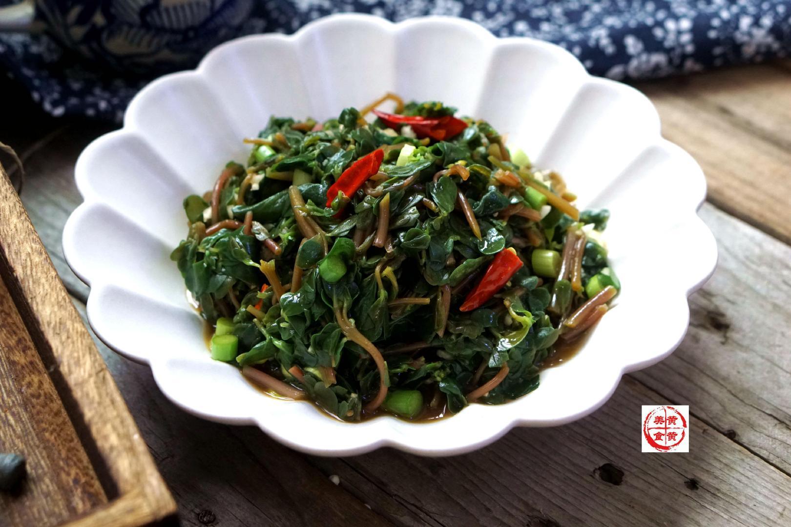 这野菜,天热了千万别放过,清热消炎,随手一拌,好吃又清肠胃