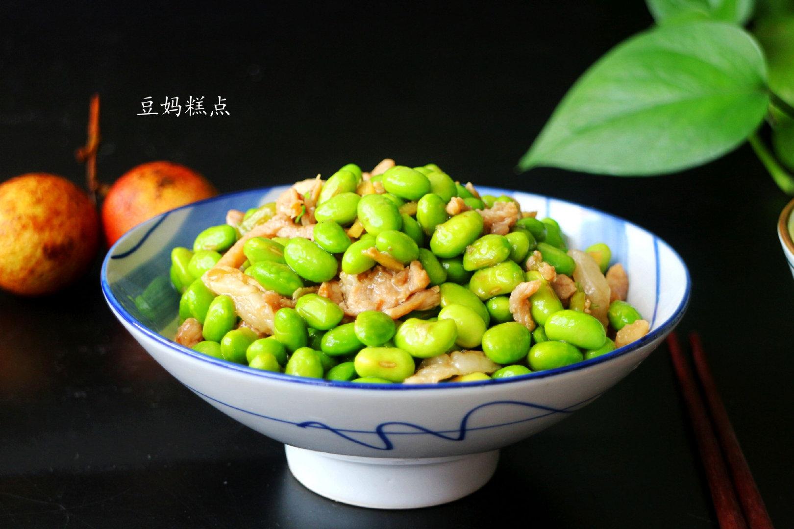 4道毛豆做的家常菜,简单易做,老少都喜欢!孩子多吃健脑补铁