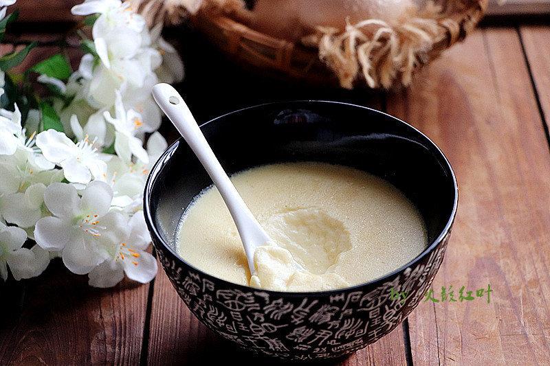 做蛋羹加上这种粉,去腥开胃;蒸的方法要这样,才会特别嫩滑