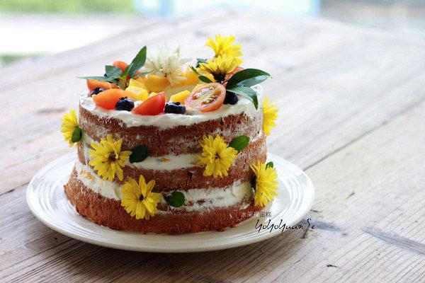 【光棍节】单身又怎样,做一款裸蛋糕给自己