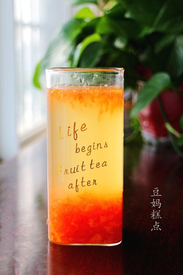 减肥水果,西柚果汁的做法,简单易学,天热喝,清凉解渴还特别降火