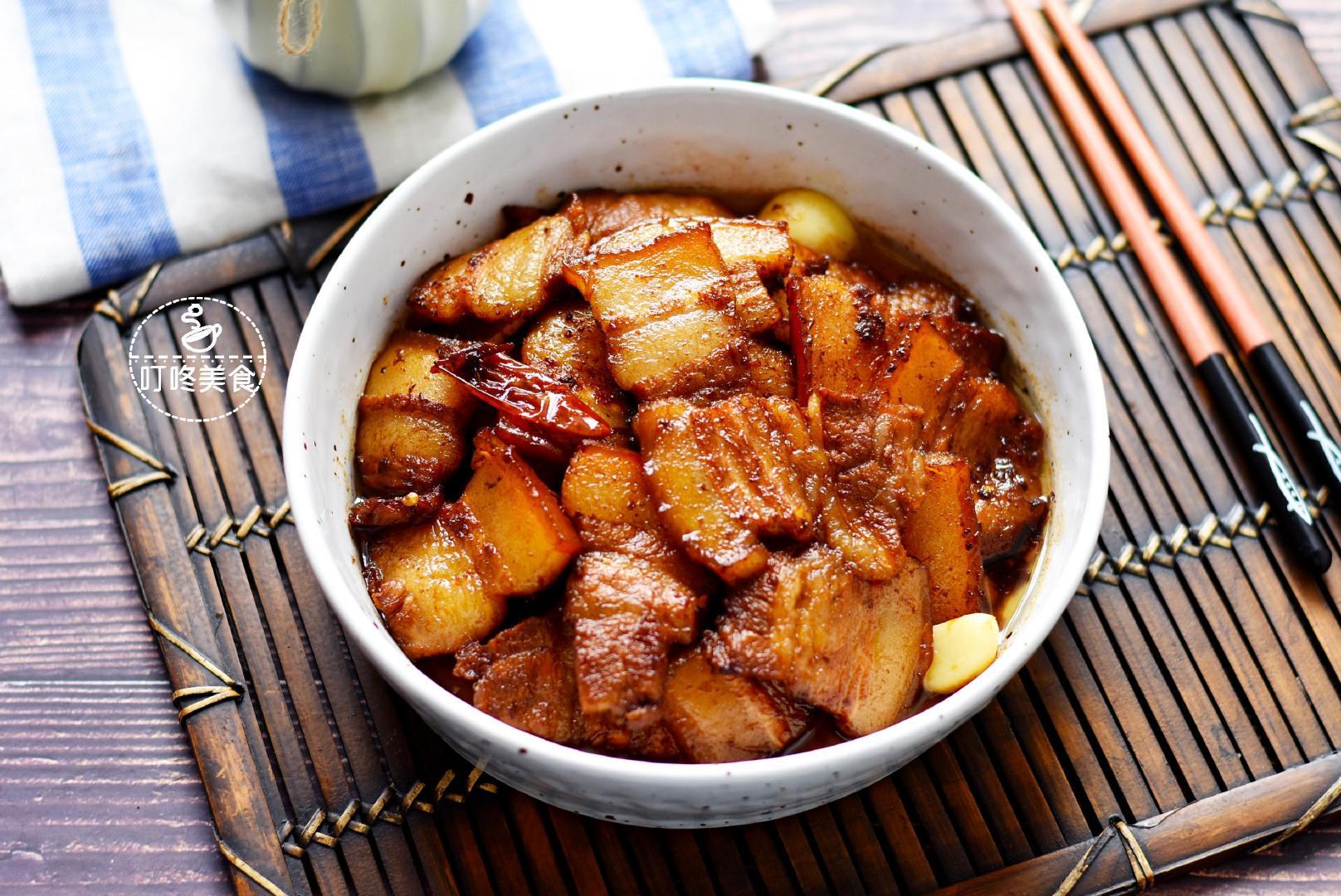 五花肉这样做才好吃,比红烧肉简单,香而不腻,上桌几下就光盘
