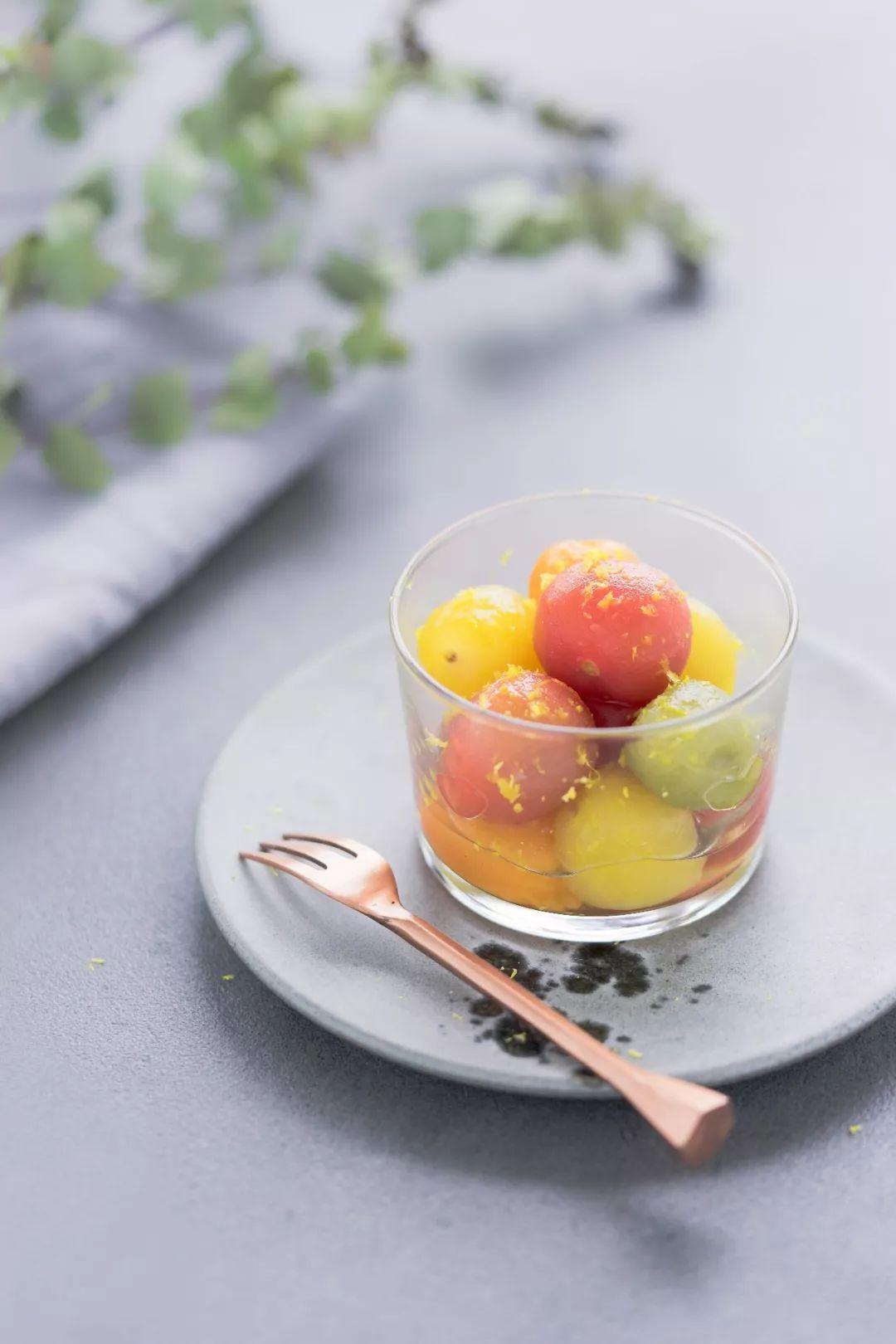 夏日必吃的冰镇话梅小番茄