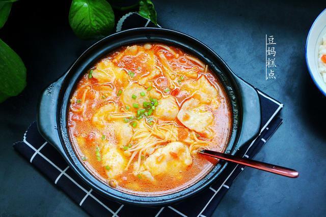 没胃口?学会番茄鱼的做法,鱼嫩无刺,酸爽开胃,一口汤也不想剩