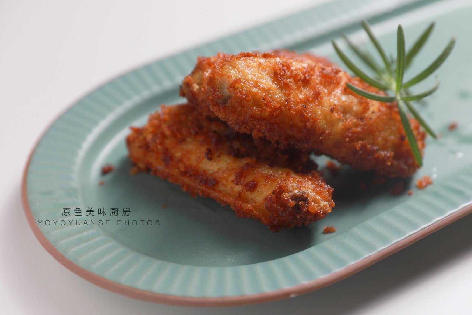 外脆里嫩的鸡翅只要这样做,零厨艺制作,懒人最爱