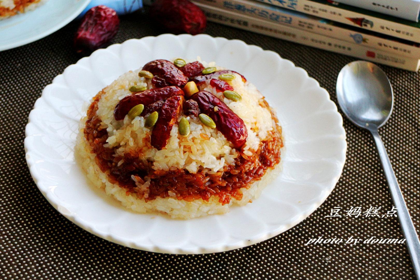 糯米饭怎么做?八宝饭、糯米早餐,香糯味美,学会了有空做