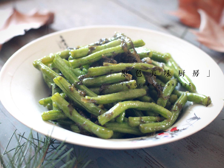 咸菜炒四季豆:烹饪方式不到位就是致命毒药