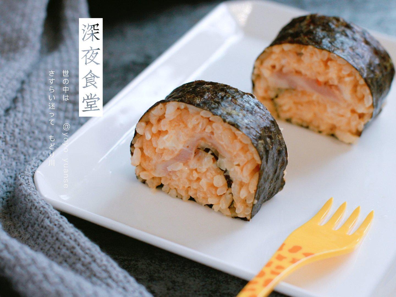 微辣款鱼肠寿司