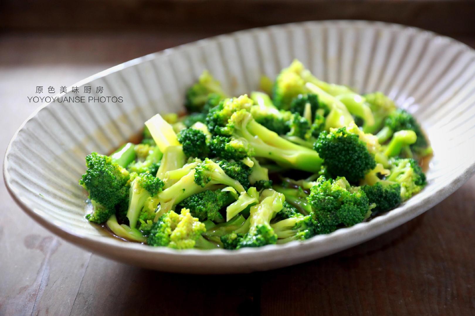 掌握好这个窍门,在家也能轻松做出好吃的蚝油西兰花,营养又低脂