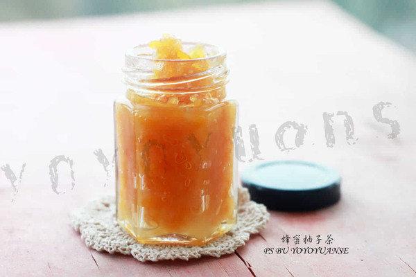 蜂蜜柚子茶:别嫌麻烦你也能做出来的养生茶