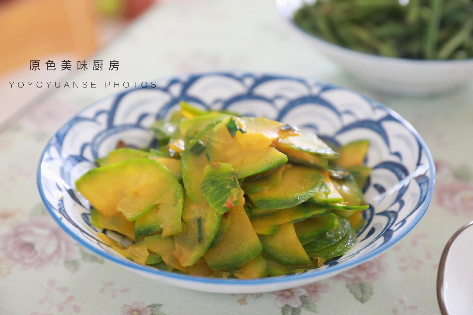 这样炒南瓜,脆香又好吃,健康小炒2分钟出锅