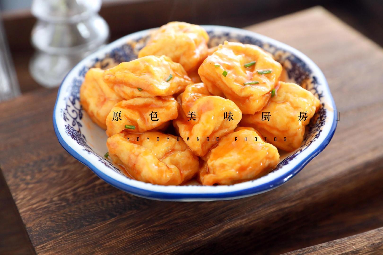 茄汁石屏豆腐