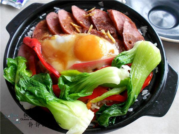 【美食每刻】哈尔滨红肠煲仔饭