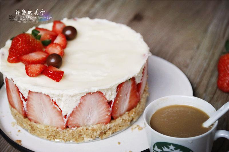 【美食每刻】草莓慕斯蛋糕