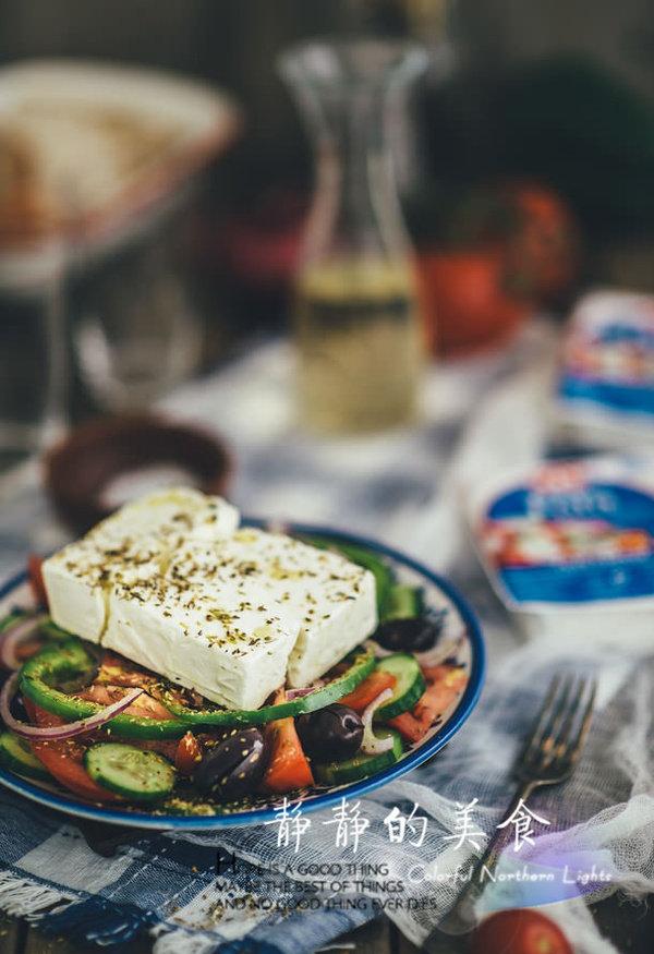 如何做经典的希腊沙拉