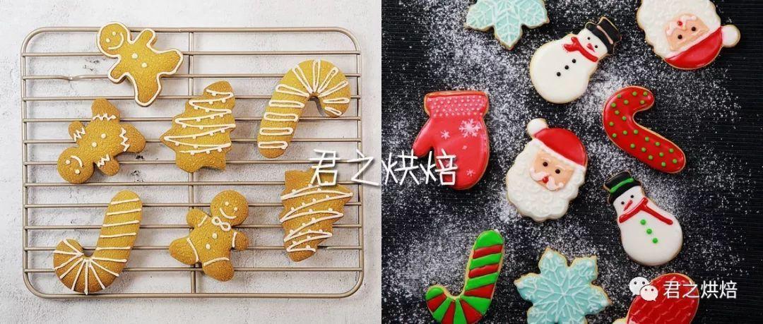 两款圣诞饼干,选一款做起来吧!