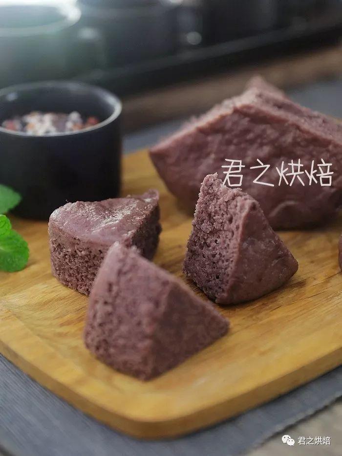 为什么紫米发糕这么好吃?